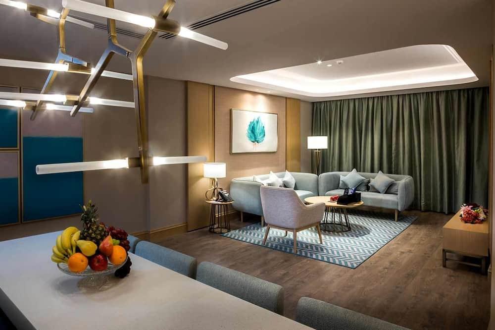 Suite, 3 habitaciones (With 2 Bathrooms) - Sala de estar