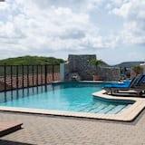 Bungalow Deluxe, vue piscine - Vue depuis la chambre