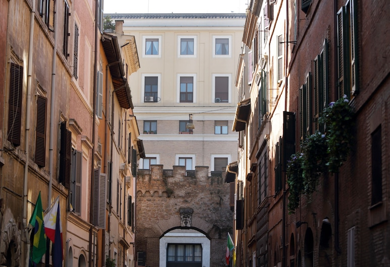 Borgo Pio Suites Inn, Roma, Parte delantera del hotel