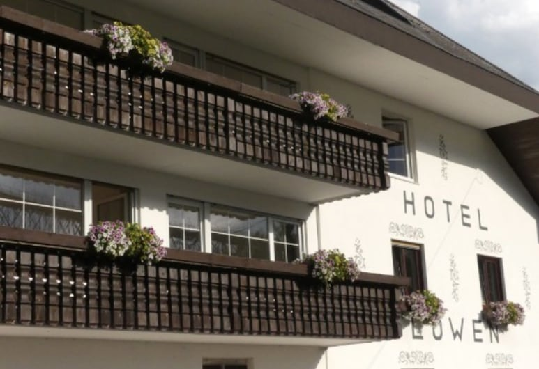 Landhotel Loewen, Blumberg, Hotellin julkisivu