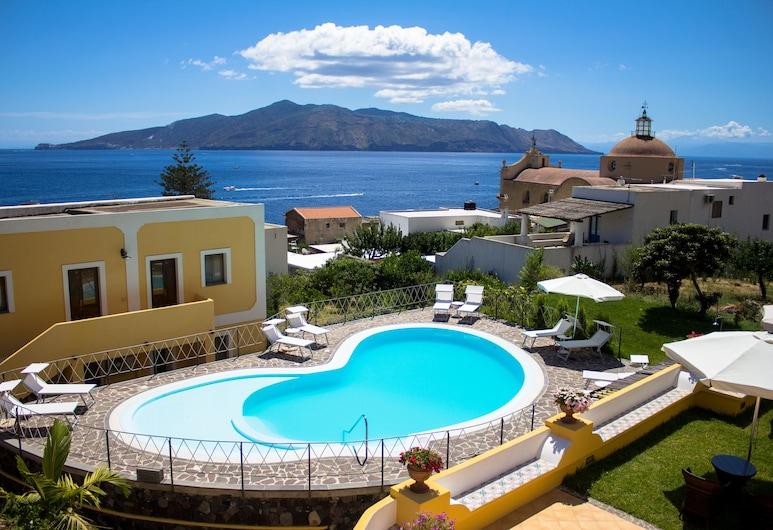 Hotel Arcangelo - Salina, Santa Marina Salina, Kolam Terbuka