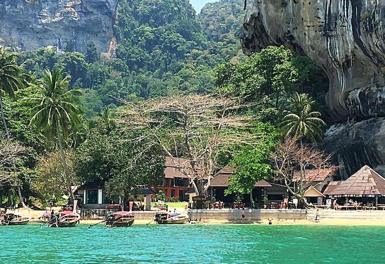 Tonsai Bay Resort, Krabi, Strand