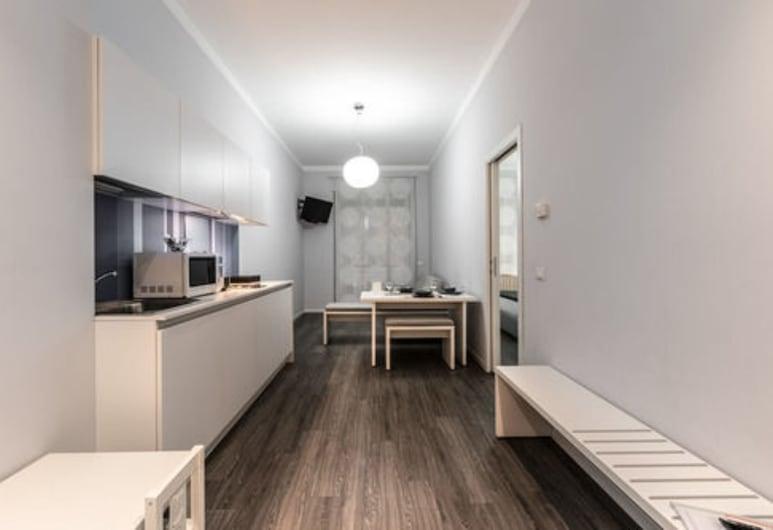 Studio Inn De Angeli, Milaan, Appartement, 1 slaapkamer, Kitchenette in kamer