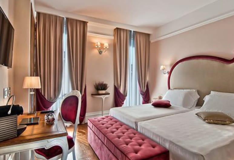 Infinity Hotel Roma, Rome, Classic Double or Twin Room, Guest Room