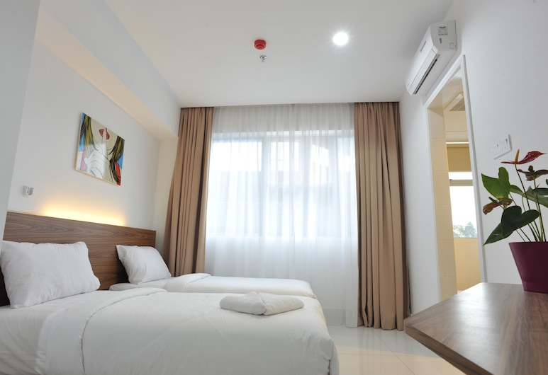 V Hotel, Kuala Lumpur, Superior Deluxe Twin, Guest Room