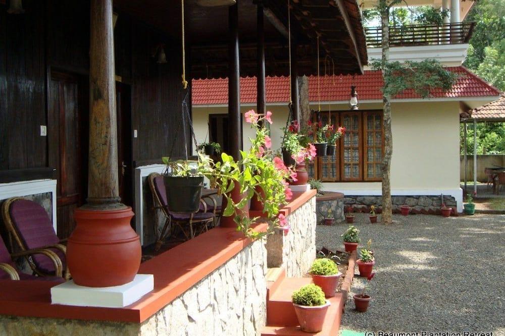 Casa de campo tradicional - Balcón