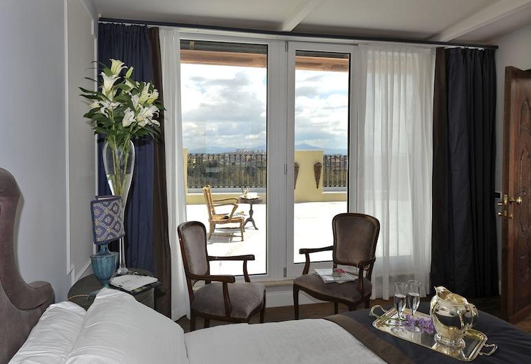 特爾米迪提托酒店, 羅馬, 豪華客房, 客房