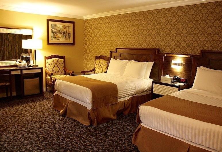The Deluxe Hotel Vancouver, Vancouver, Rom – deluxe, 2 dobbeltsenger, Gjesterom