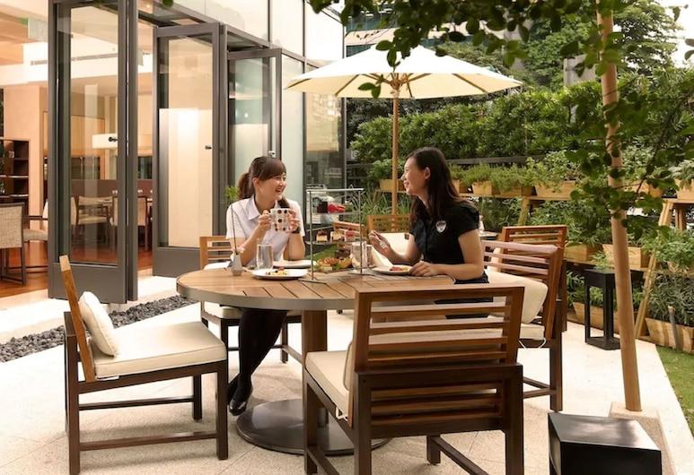 和逸台北民生館, 台北市, 室外用餐