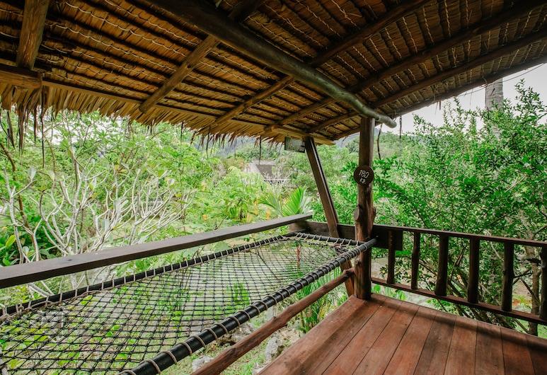 Ban Sainai Resort, Krabi, Family Cottage, Balkong