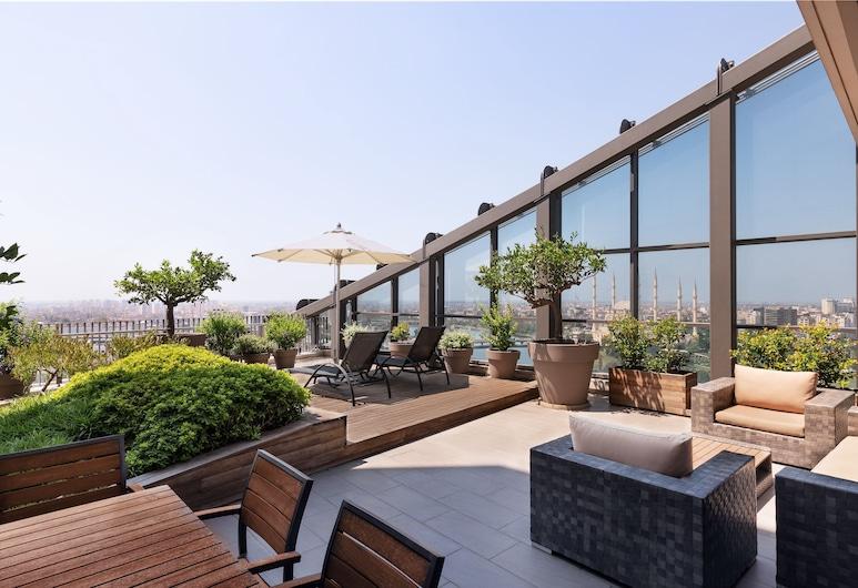 Sheraton Grand Adana, Adana, Suite presidencial, 1 cama King size, para no fumadores, Terraza o patio