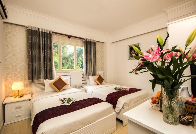 Rosa Hotel & Spa, Bandar Raya Ho Chi Minh, Deluxe Triple Room, Bilik Tamu