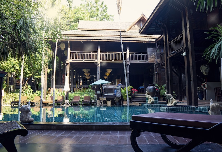 Yantarasri Resort, Chiang Mai, Executive Poolside Twin, Guest Room View