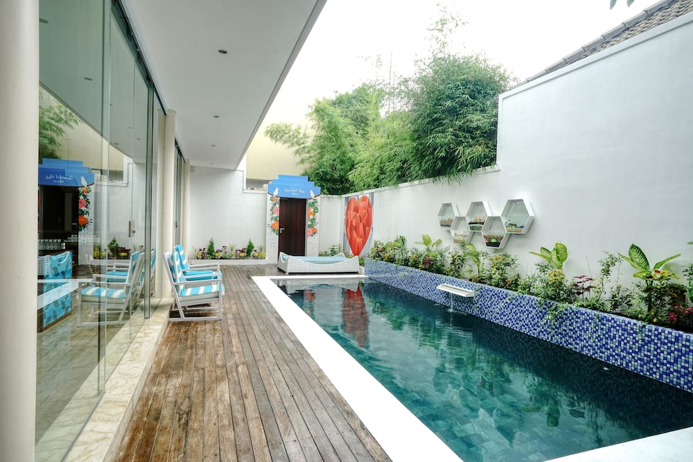 Villa, 2 Bedrooms, Private Pool, Pool View - Living Area