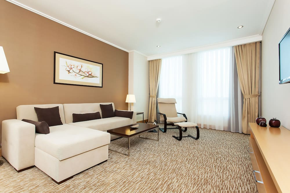 One Bedroom Apartment City View with Kitchen - Living Room