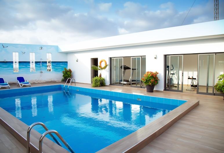 Le Ndiambour 住宅酒店, 達卡, 泳池