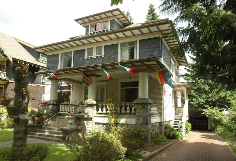 Windsor Guest House, Vancouver, Hotel Front