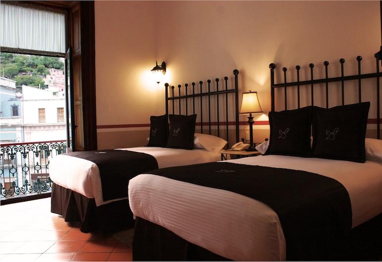Hotel de la Paz, Guanajuato, Habitación doble superior, Habitación