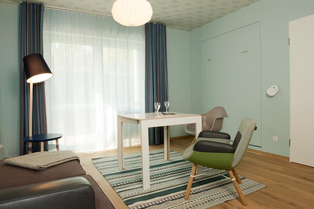 חדר אקסקלוסיבי זוגי, מיטה זוגית - אזור מגורים