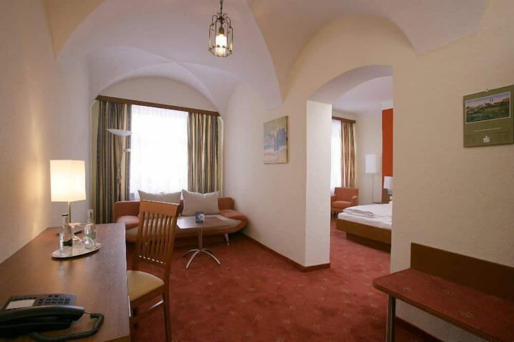Comfort-dobbeltværelse - Opholdsområde