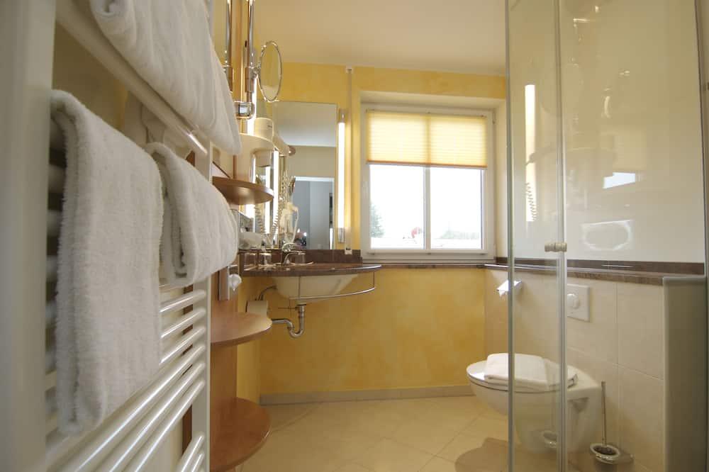 غرفة بريميم مزدوجة - بشرفة (Mediterranean Style) - حمّام