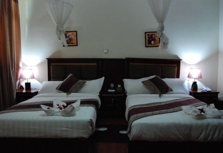 Addis Amba Hotel, Bahir Dar, Twin Room, Living Area