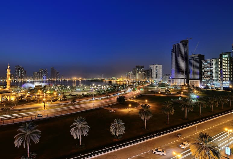 Al Majaz Premiere Hotel Apartment, Sharjah, Utsikt från boendet