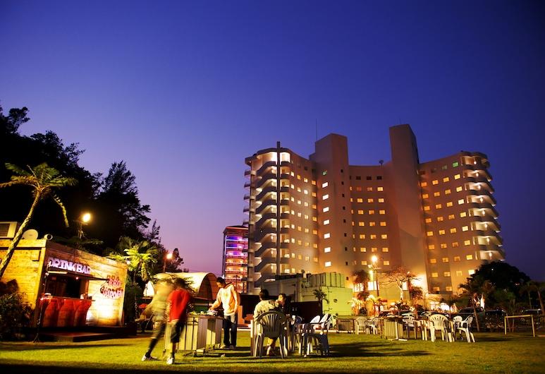 Okinawa Sun Coast Hotel, Nago, Hotel Front – Evening/Night