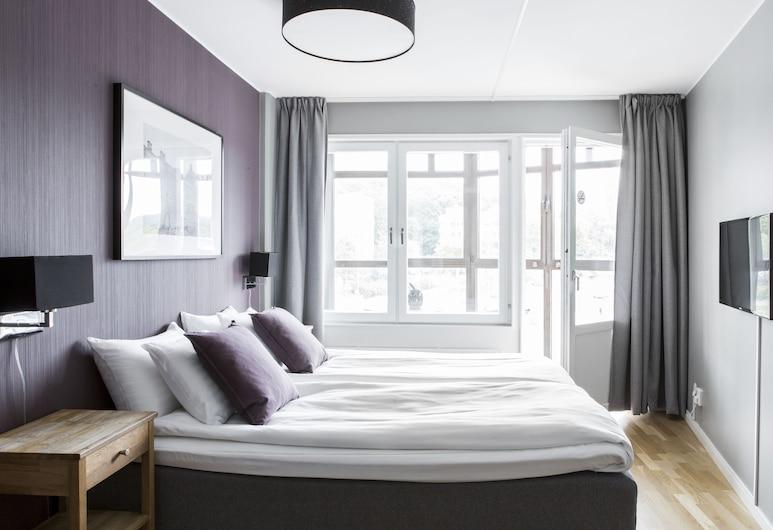 Linnéplatsens Hotell & Vandrarhem - Hostel, Göteborg, Dubbelrum, delat badrum (Hotell), Gästrum