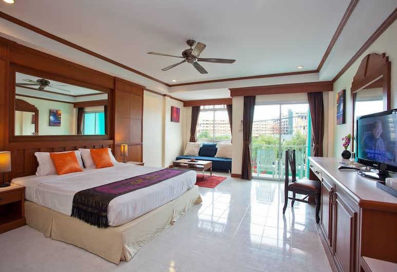 The Yim Siam Hotel, פטונג, חדר משפחתי לארבעה, חדר אורחים
