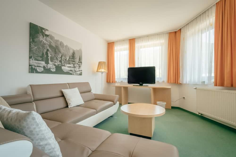 Habitación cuádruple superior, 2 habitaciones - Zona de estar