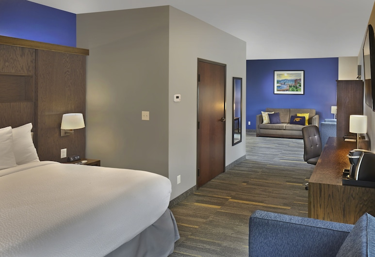 The Scholar Hotel- Morgantown, Morgantown, Habitación estándar, 1 cama de matrimonio grande, Habitación
