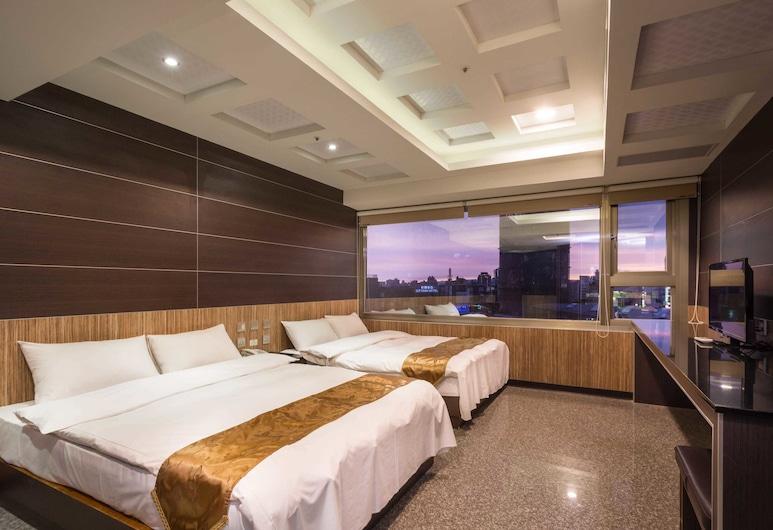 雙星大飯店, 台中市, 高級四人房, 客房