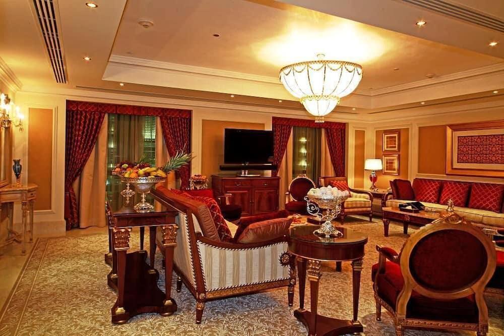 Grand Royal Suite, 2 Bedrooms, Haram View - Coin séjour