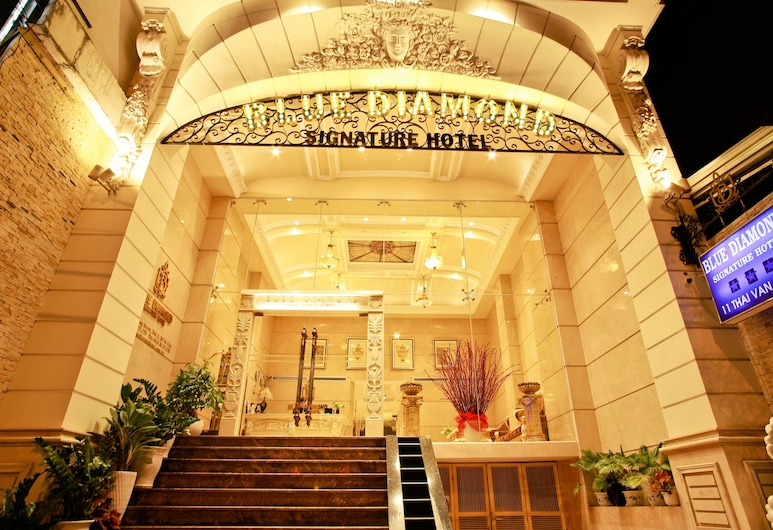 Blue Diamond Signature Hotel, Bandar Raya Ho Chi Minh, Pintu Masuk Hotel