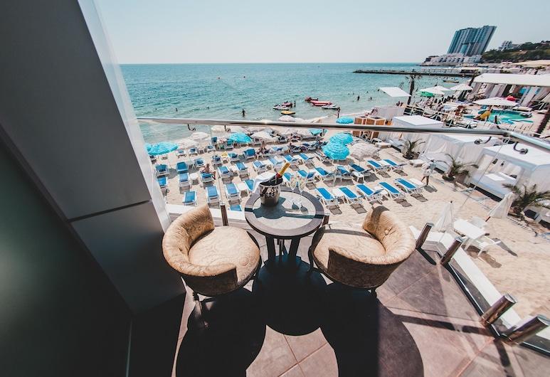 Boutique Hotel Portofino , Odessa, Suite, Balkon, Uitzicht op zee (Studio), Balkon