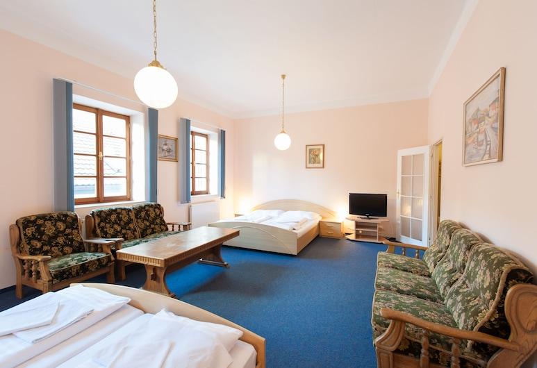 Hotel v Centru, Ceske Budejovice, Quarto Quádruplo Standard, Quarto