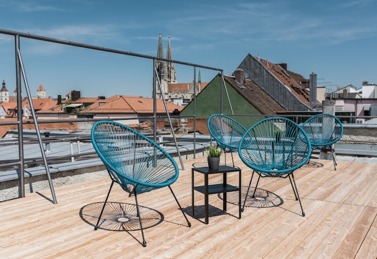 Hotel Weidenhof, Regensburg, Terrasse/Patio