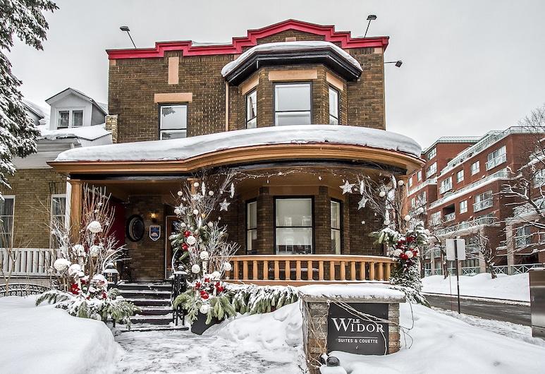 Le Widor, Petit Hôtel, Quebec, Fassaad