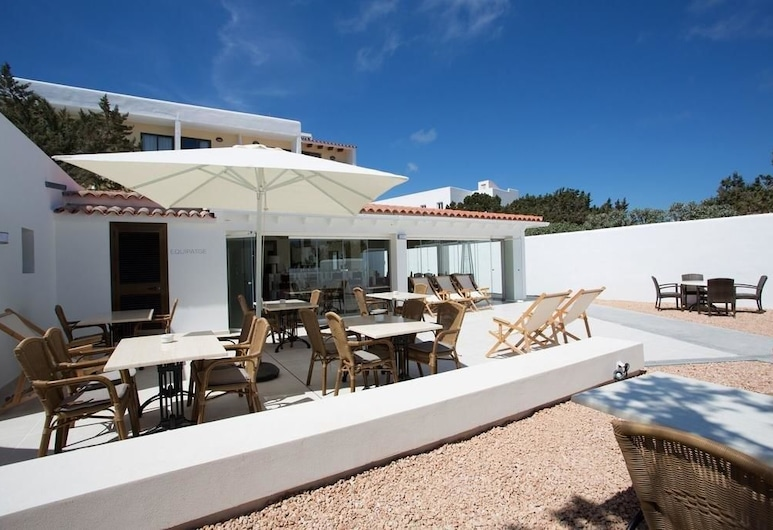 Hotel Rosamar, Formentera, Hotellin sisäänkäynti