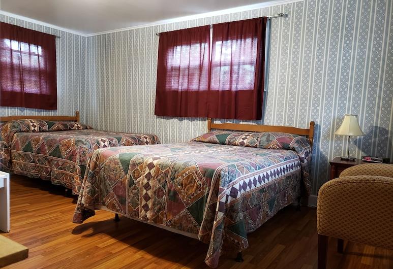 Regent Motel, Saint John, Comfort Double Room, 2 Double Beds, Guest Room