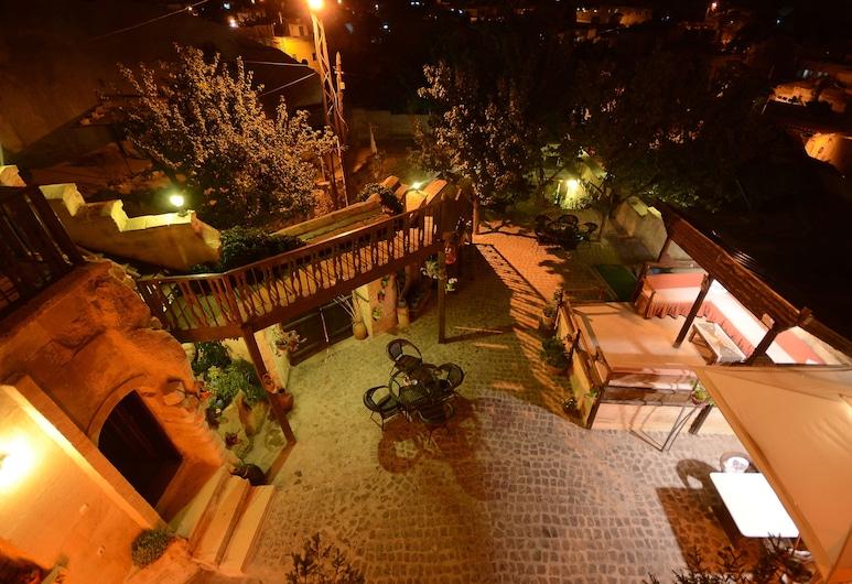 Cappadocia Abras Cave Hotel, Urgup, Hotel Front – Evening/Night