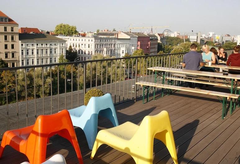 Happy Bed Hostel, Berlīne, Terase/iekšējais pagalms