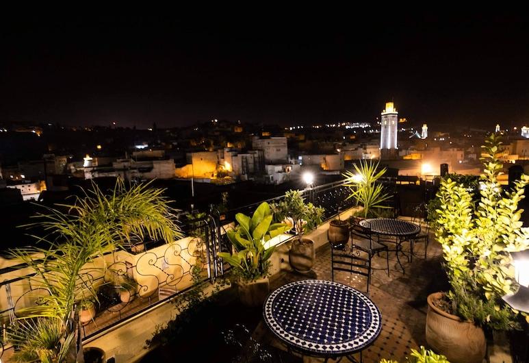 Riad Fes Aicha, Fes, Terraço/pátio