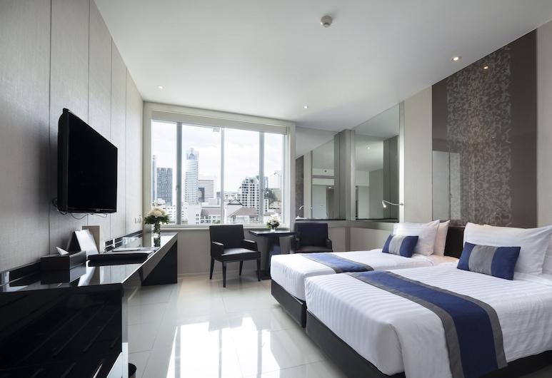 マンダリン ホテル マネージド バイ センター ポイント, バンコク, プレミア ルーム, 部屋からの眺望