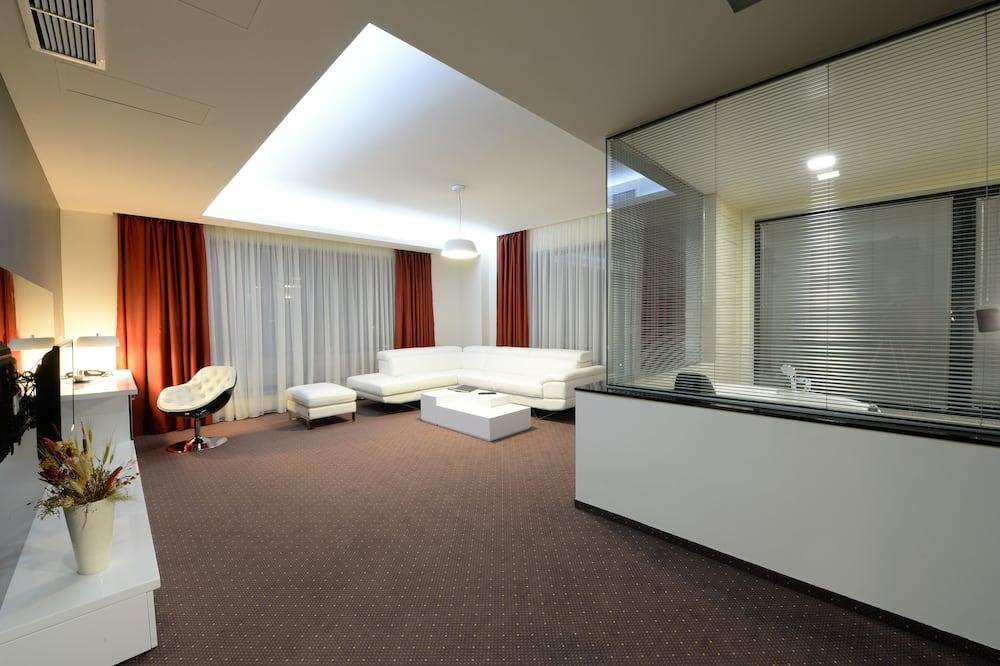 Представительские апартаменты (5% discount in the restaurant) - Зона гостиной