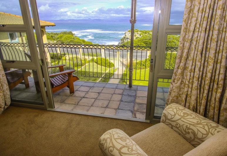 On the Cliff Guest House, Hermanus, Penthouse, vista al mar, frente al mar, Habitación