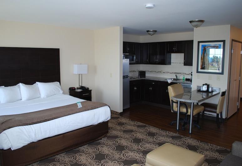 Landmark Suites, Williston, Premium-Studiosuite, Zimmer