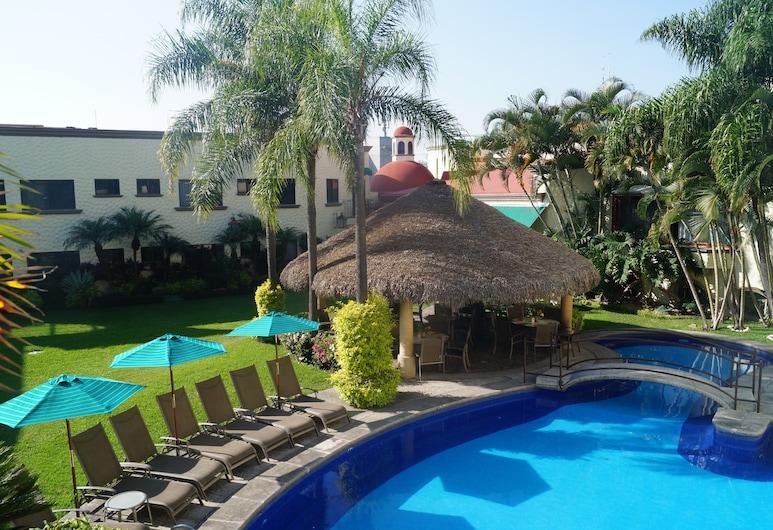 Hotel Argento, Cuernavaca, Porch