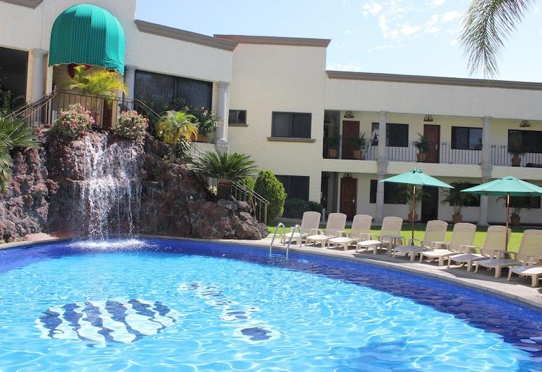 Hotel Argento, Cuernavaca, Açık Yüzme Havuzu
